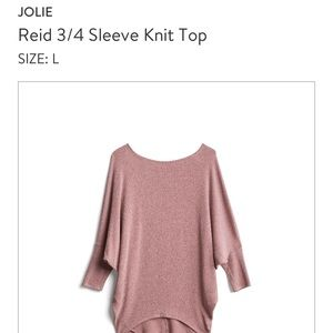 Jolie 3/4 sleeve to, purging my Stitch Fix!